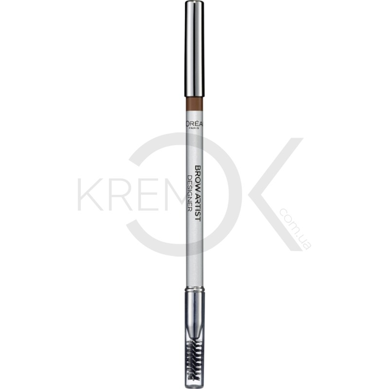 Олівець для брів L'Oreal Color Riche Brow Artist Designer, №302 Golden Brown, 4 г, бренд: L'Oreal Paris