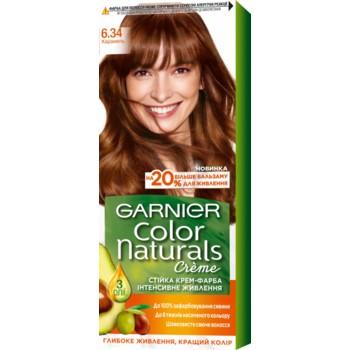Краска для волос Garnier Color Naturals 6.34 Карамель, 110 мл, бренд: Garnier