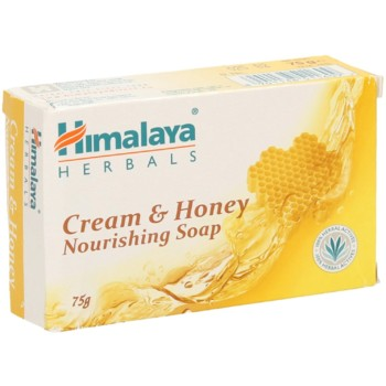 Мило Вершково-Медове Himalaya Herbals Cream & Honey Nourishing Soap, 75 г