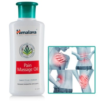 Болеутоляющее массажное масло Himalaya Herbals Pain Massage oil, 100 мл